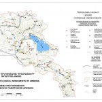 Location Geological Monuments of Armenia