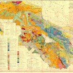 Geological Map of Lesser Caucasus (1947)