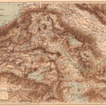 Map of Armenia by Lynch and Oswald (1855)