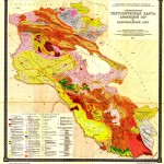 Tectonic Map of Armenia (1967)